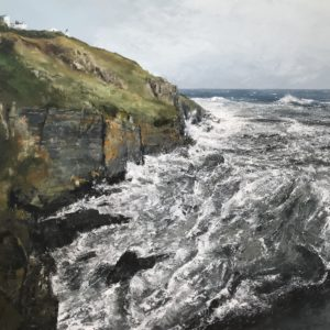 Simon Jewell – Blustery Winds and a Cauldron Sea, Lizard Point