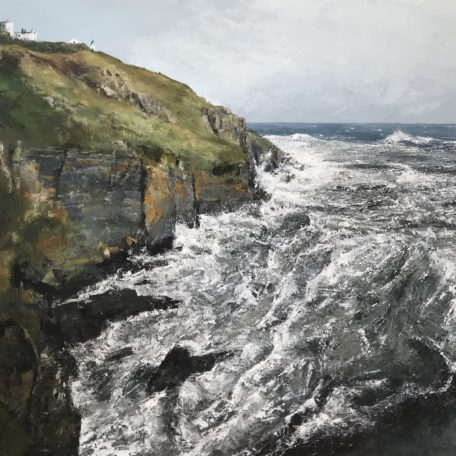 Simon Jewell – Blustery Winds and a Cauldron Sea Lizard Point