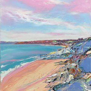 Joe Armstrong – Pink Sky over Cudden Point