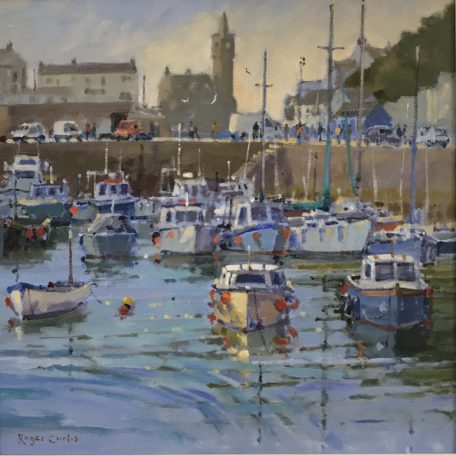 Roger Curtis – High Summer Porthleven Harbour