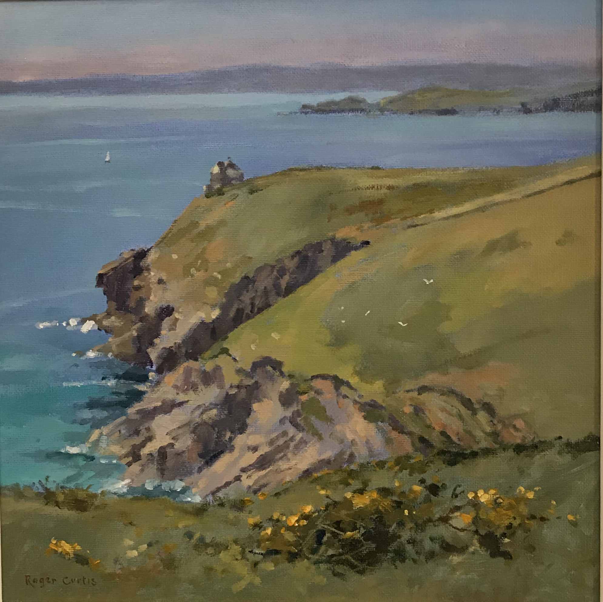Roger Curtis Sea Cliffs Rinsey Customs House Gallery