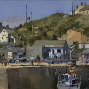 Roger Curtis – The Quay and The Ship, Porthleven