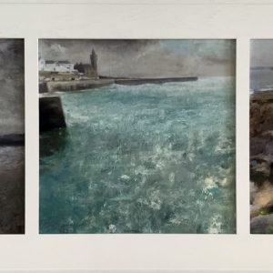 Andrew Barrowman – Colours of Porthleven Triptych