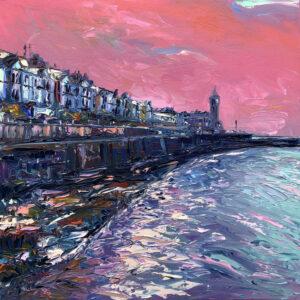 Joe Armstrong – Pink Sky, Porthleven