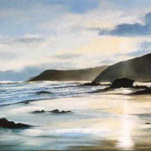 Heather Howe – Winter Sunset, Kennack