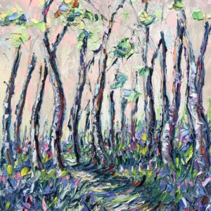 Joe Armstrong – Bluebell Wood, Penrose