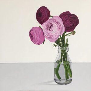 Rebecca Jewell – Pretty Pink Ranunculas
